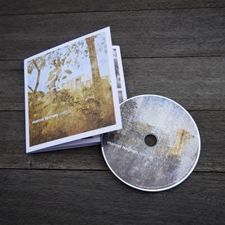 马瑟尔的首张个人音乐专辑Residue。(受访者提供)
